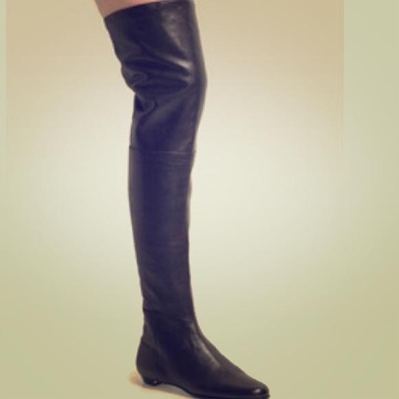 jimmy choo shoes over the knee edna boots poshmark rh poshmark com